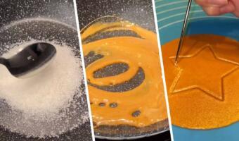 Как приготовить «Сахарные соты» из сериала «Игра в кальмара». Сладость стала трендом за считаные дни