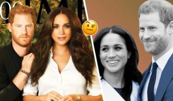 Люди гадают о семейном счастье Гарри и Меган по фото в Time. Это принц-подкаблучник или защитник жены