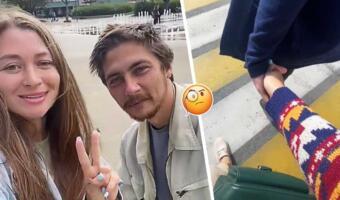 Блогерша из России отмыла бездомного и влюбилась в него. Настоящие чувства или умелый хайп?