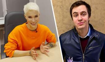 Комик Зоя Яровицына защитила Ивана Абрамова от нападок из-за слов о жене. Отменяли его, а страшно ей