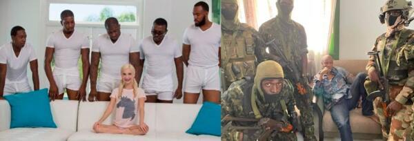 Пока вокруг хаос и переворот, фото президента Гвинеи на чиле и расслабоне напоминает мем о терпении