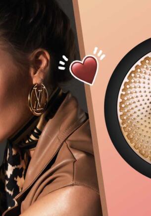 Стильный уход. FOREO выпустили девайс для красоты в коллаборации с Алиной Шпак
