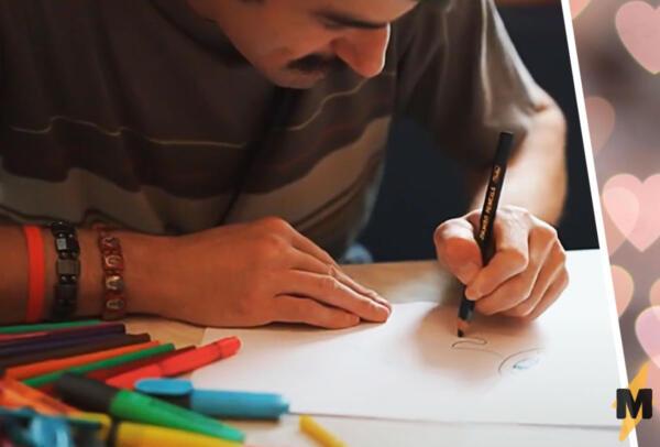 Рисует картины