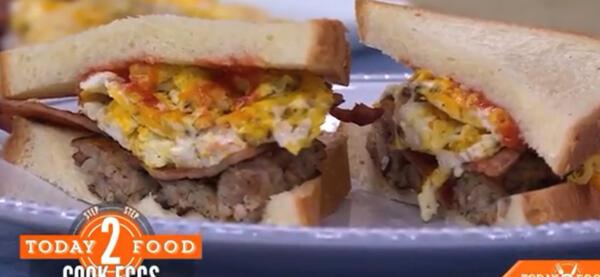 Неаппетитный бутерброд от Бруклина Бекхэма не на шутку разозлил зрителей. Кулинарное преступление?