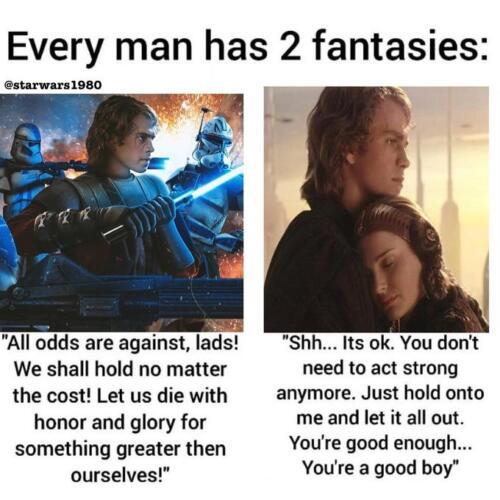 У каждого мужчины есть две фантазии