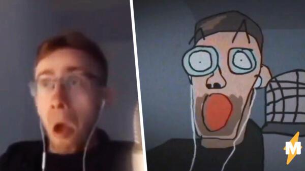 Стример Шевцов удивляется Hot Tubs в 2D. Мем с блогером переродился благодаря анимации