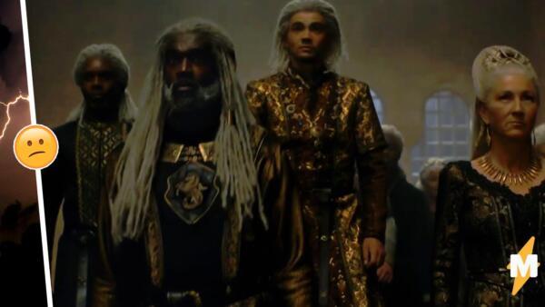 Кожа актёров в приквеле «Игры престолов» беспокоит критиков. Таких Веларионов не существует?