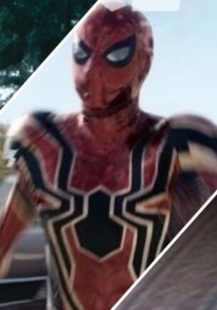 Как новый кадр «Человека-паука 3» стал мемом. Супергерой так быстро бежал, что попал в другие вселенные