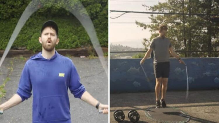 Блогер узнал, что будет, если каждый день прыгать на скакалке. Пресс без похода в спортзал и диет