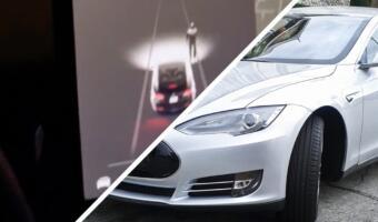 Водитель Tesla заехал на кладбище, и датчики авто увидели пешеходов в ночи. Глюк системы или мистика