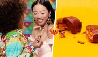 Поцелуй ЛГБТ-пары из рекламы конфет Dolce&Gabbana распалил россиян. Смотрят, потом отписываются