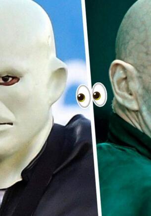 Канье Уэст в маске Фантомаса выглядел настолько нелепо, что попал под насмешки. Стиль Волан-де-Морта