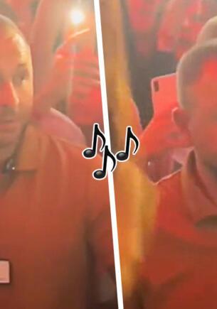 Недовольный мужчина на концерте Инстасамки стал звездой Сети. Вокруг веселье, а он в тоске