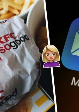 Зря блогерша насмехалась над работой в KFC. Потешный отказ фасфуда довёл её до слёз