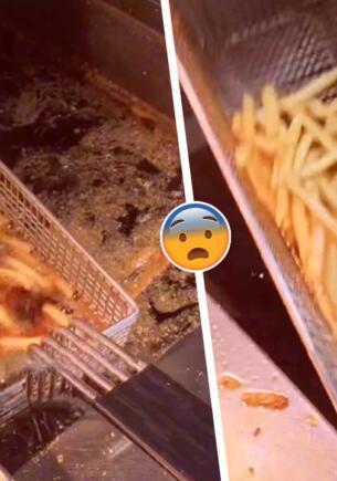 Как в «Макдоналдсе» разогревают картошку фри. Видео с закуской в масле разделило гурманов