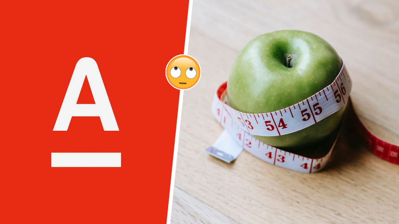 Альфа-банк прорекламировал шоу о похудении и обидел людей в Сети. Промо со вкусом фэтшейминга