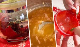 Блогерша показала, как сделать чайную бомбочку. Простой рецепт эффектного и сладкого гастротренда