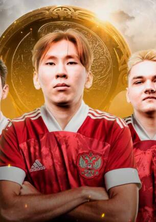 Сборная РФ по футболу разозлила Сеть постом о команде Team Spirit. Поздравили фотошопом с ошибками