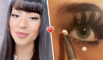 Зачем девушки рисуют белые точки на глазах. Бьюти-тренд для очарования мужчин покоряет Сеть