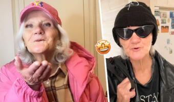 «Самая красивая бабушка». Пожилая россиянка сменила халат на модные наряды и покорила людей в Сети