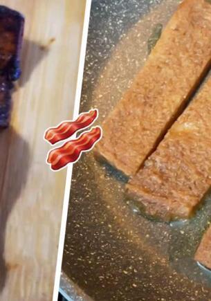Как приготовить бекон из хлеба? Хитрый лайфхак для экономных гурманов