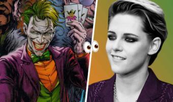 Как Кристен Стюарт выглядит в образе Джокера? Киноманы выдвинули актрису на роль противника Бэтмена