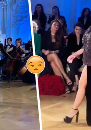 Неуклюжий проход Дилары Зинатуллиной на показе Bicholla разочаровал фанов. Из «кухарок» в модели