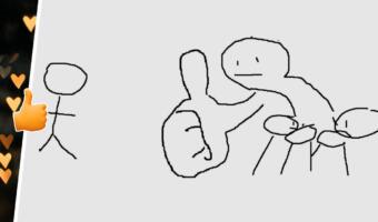 Мем про большой палец возродился в новом шаблоне. Он покажет, как реагировать на непопулярное мнение