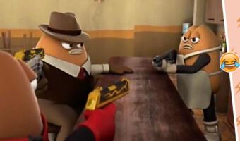 Суровый Киллер Боб с оружием угодил в тренд о драках и вернул славу мультфильму о беспощадной мафии