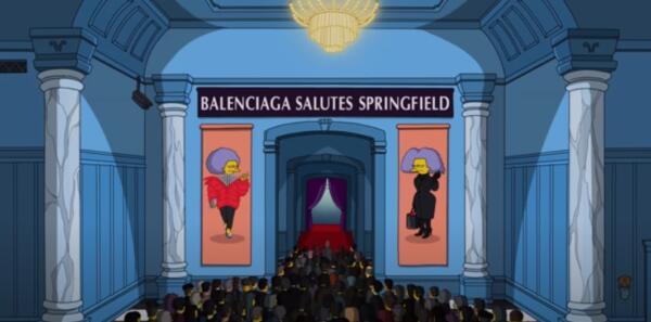Блогер разобрал наряды Симпсонов на показе Balenciaga. Там были луки из старых коллекций