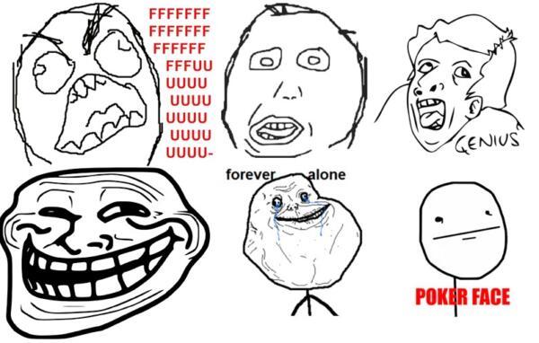 Как мемы из 2010-х вернулись в постироничном тренде. Теперь Trollface и Derp Face абсурдно шутят